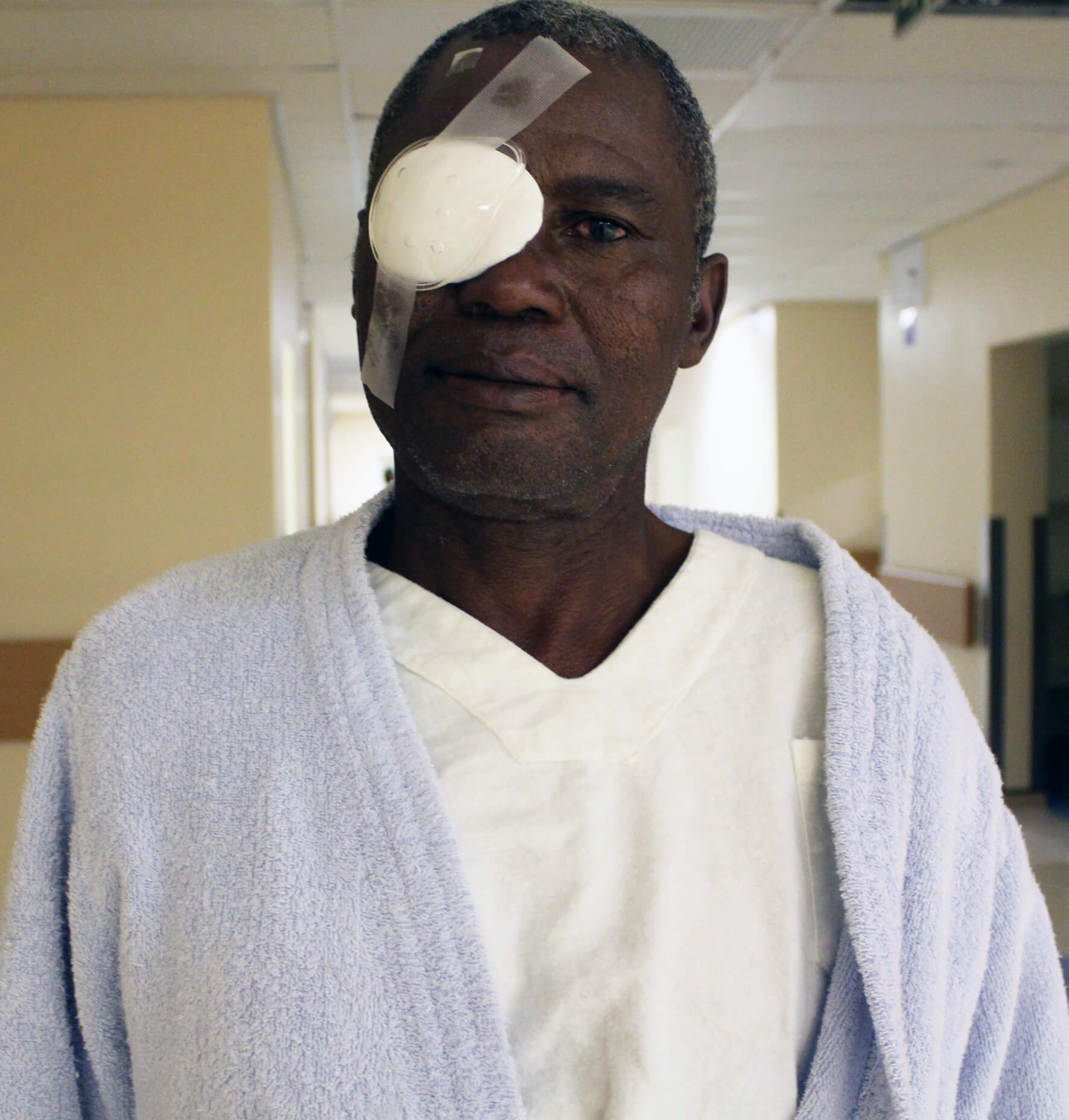 Cataract Operation restores sight