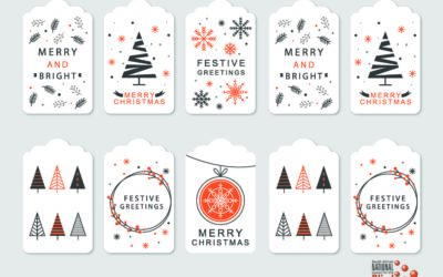 Free Festive Gift Tags